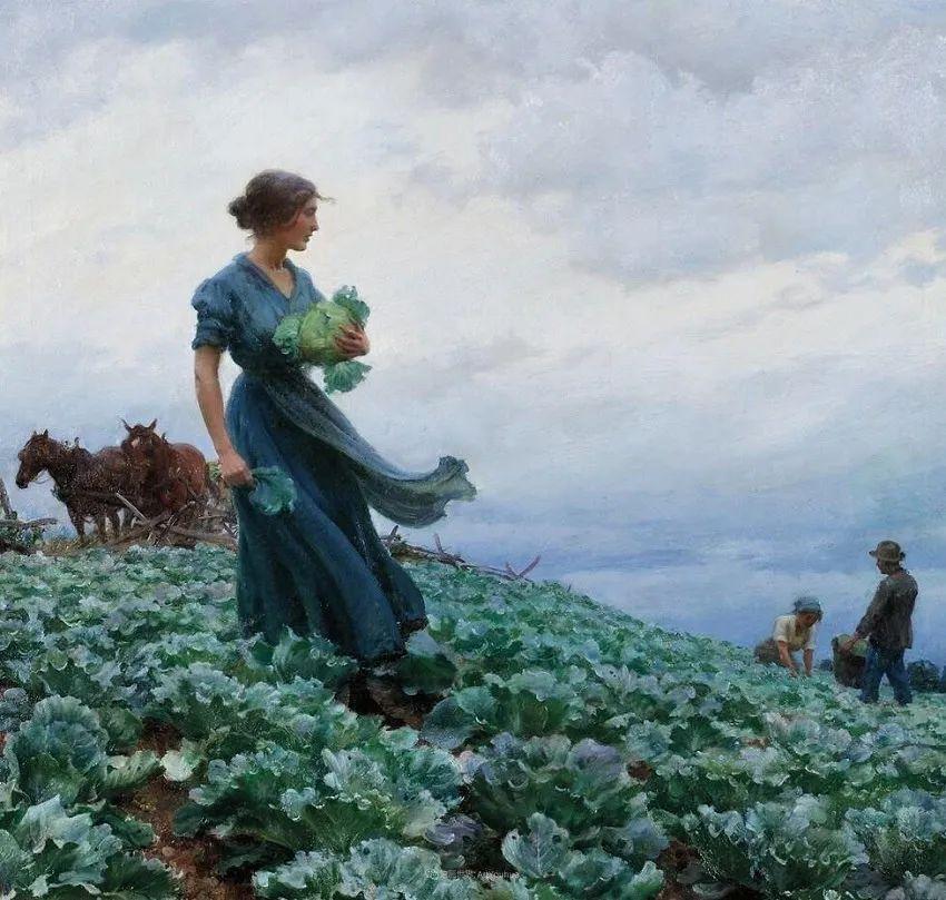 查尔斯·柯兰笔下的女人花,清香娇美!插图83