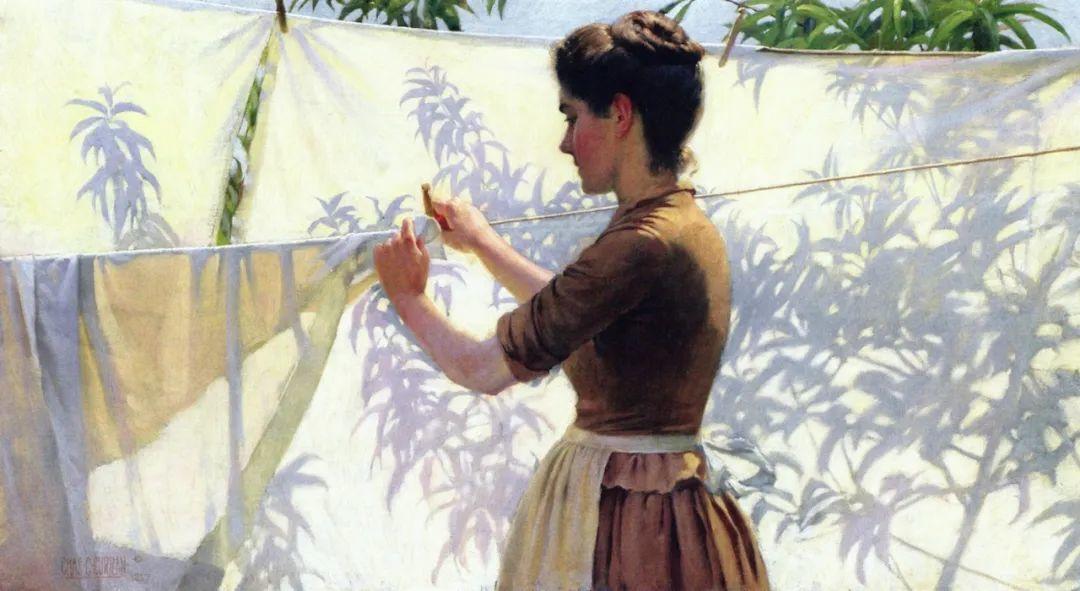 查尔斯·柯兰笔下的女人花,清香娇美!插图85