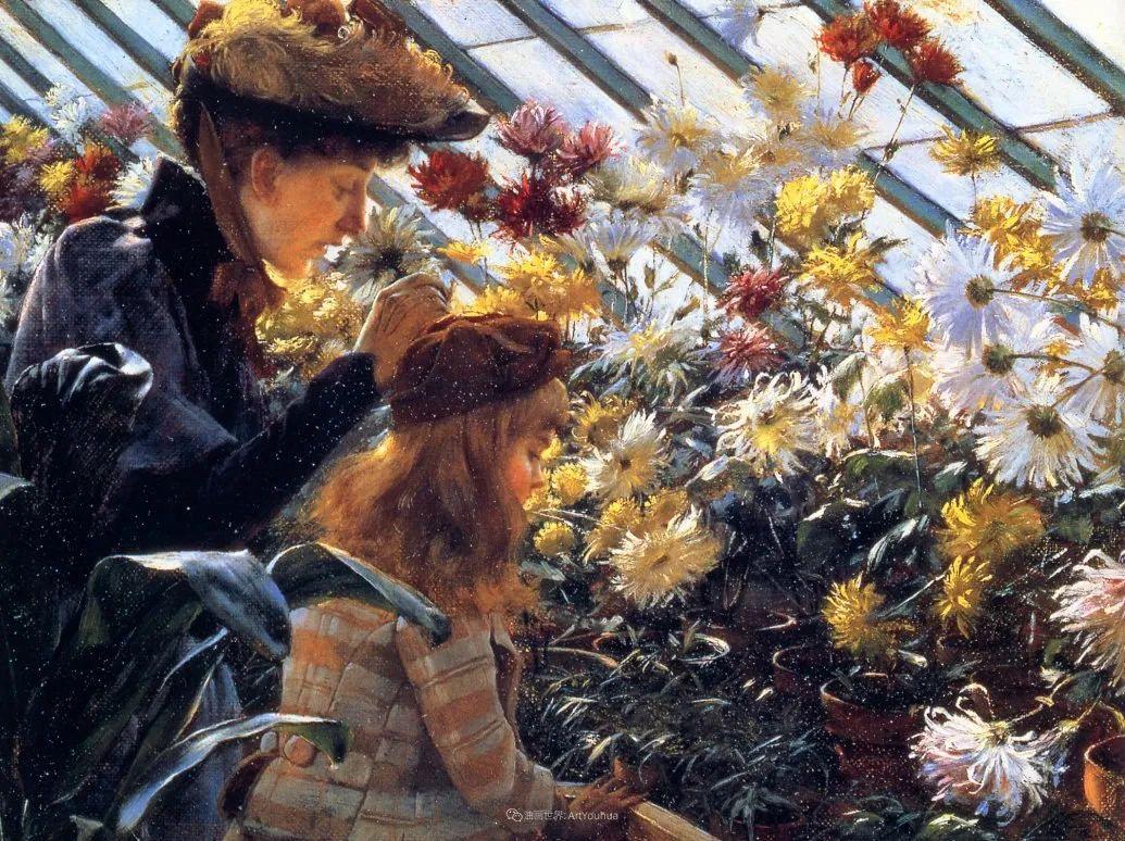 查尔斯·柯兰笔下的女人花,清香娇美!插图149