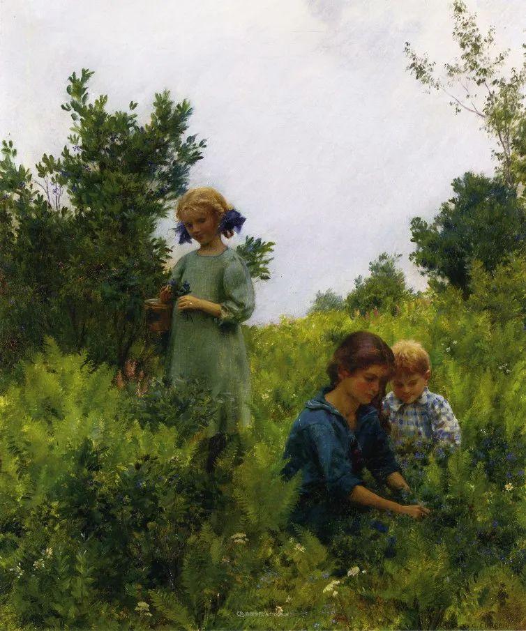 查尔斯·柯兰笔下的女人花,清香娇美!插图151