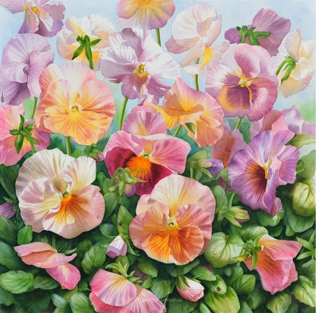 他画的每一朵花,都会释放回忆!插图