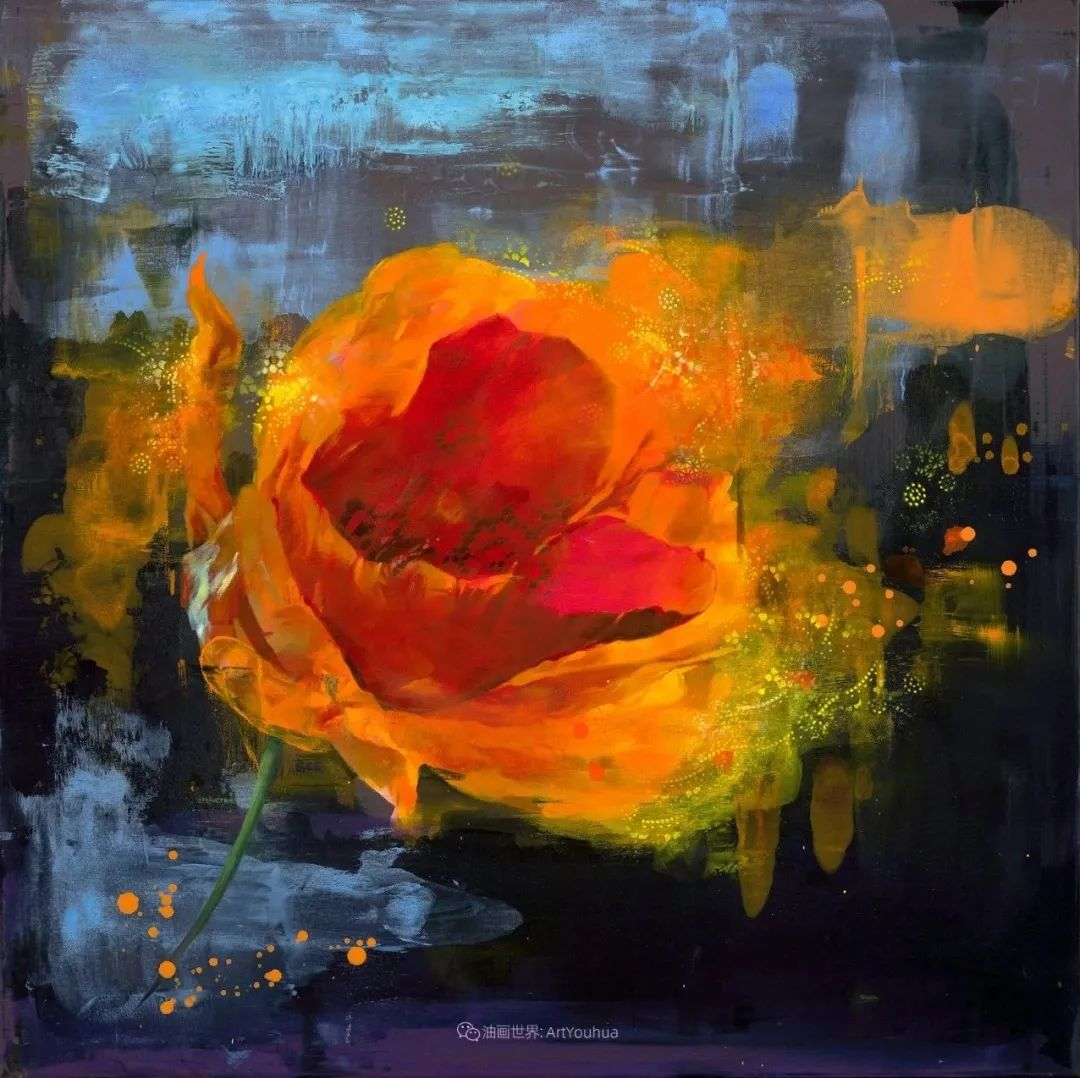 他画的每一朵花,都会释放回忆!插图13