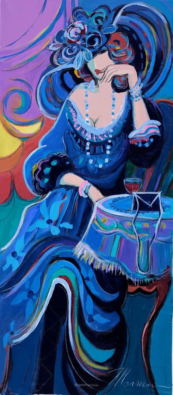 流动的曲线,鲜艳的色彩,极富美感的画面!插图3
