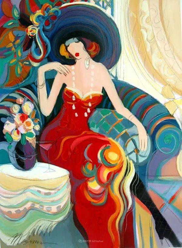 流动的曲线,鲜艳的色彩,极富美感的画面!插图25