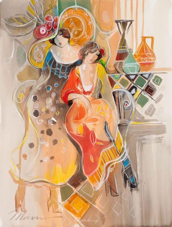 流动的曲线,鲜艳的色彩,极富美感的画面!插图33