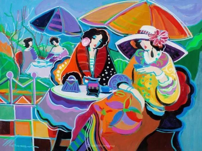 流动的曲线,鲜艳的色彩,极富美感的画面!插图67