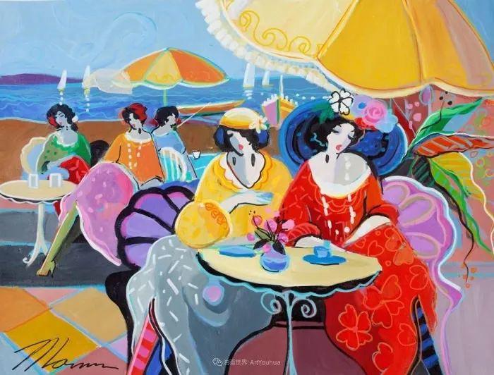 流动的曲线,鲜艳的色彩,极富美感的画面!插图71