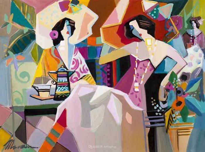 流动的曲线,鲜艳的色彩,极富美感的画面!插图85