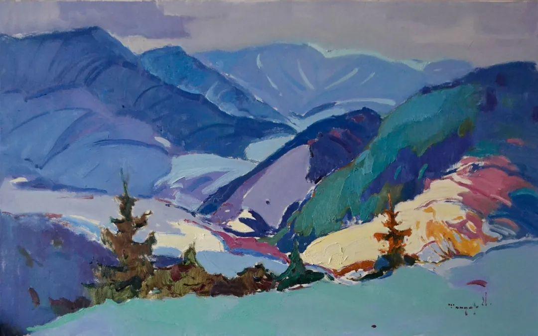风景篇   迷人的色彩,冷暖的碰撞!插图45