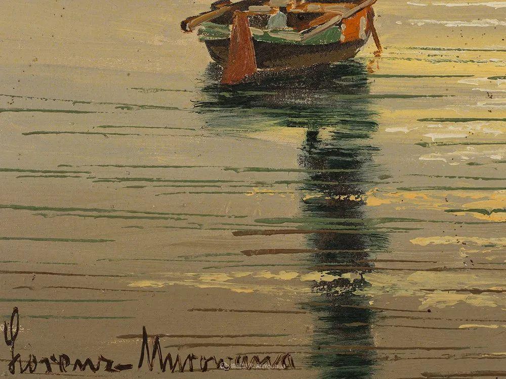海景里的光,德国画家恩斯特·莫洛瓦纳插图11