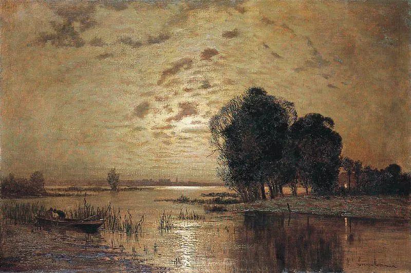 海景里的光,德国画家恩斯特·莫洛瓦纳插图12
