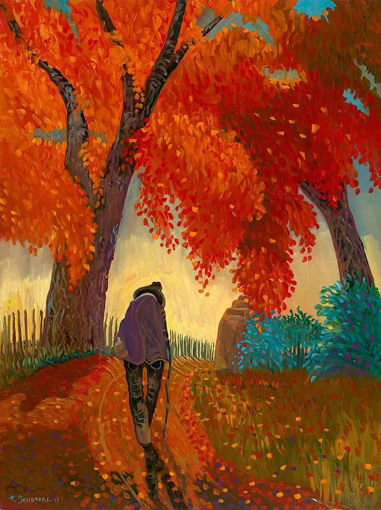 太美了,印象派和表现主义描绘的乡村景色插图5