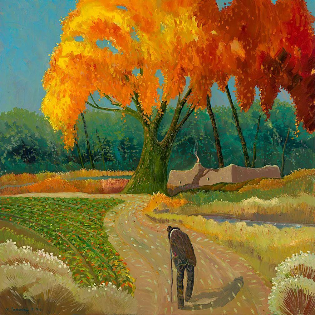 太美了,印象派和表现主义描绘的乡村景色插图9