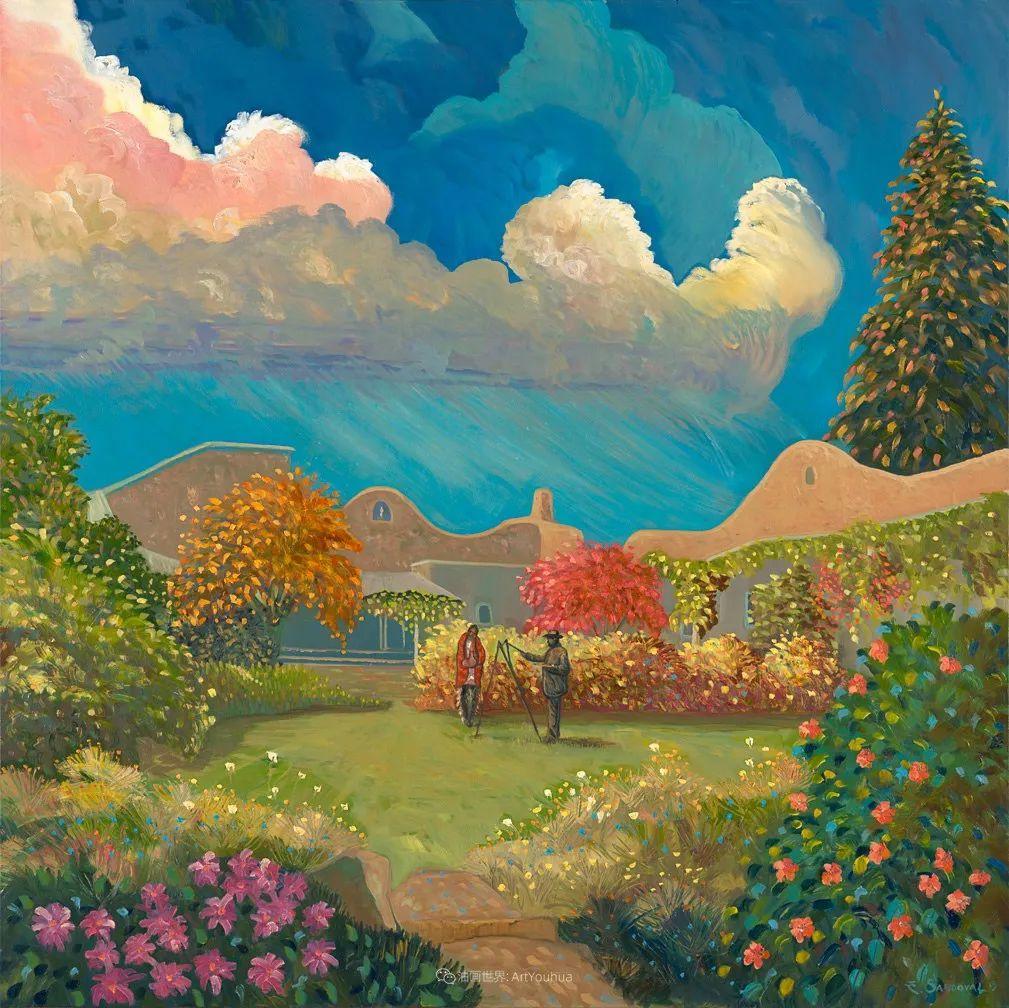太美了,印象派和表现主义描绘的乡村景色插图47