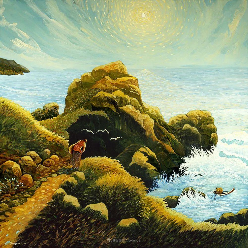 太美了,印象派和表现主义描绘的乡村景色插图65