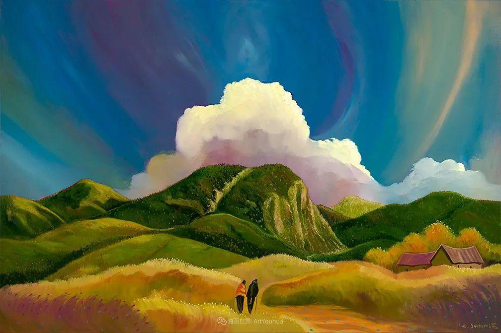 太美了,印象派和表现主义描绘的乡村景色插图71