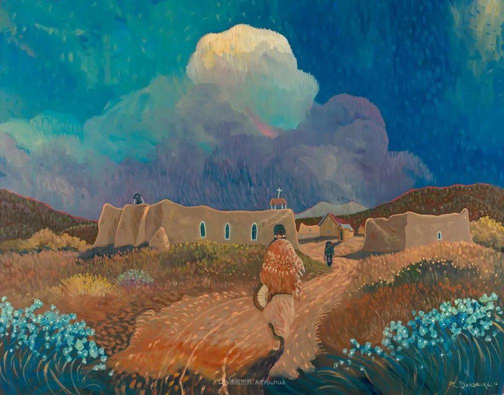 太美了,印象派和表现主义描绘的乡村景色插图91