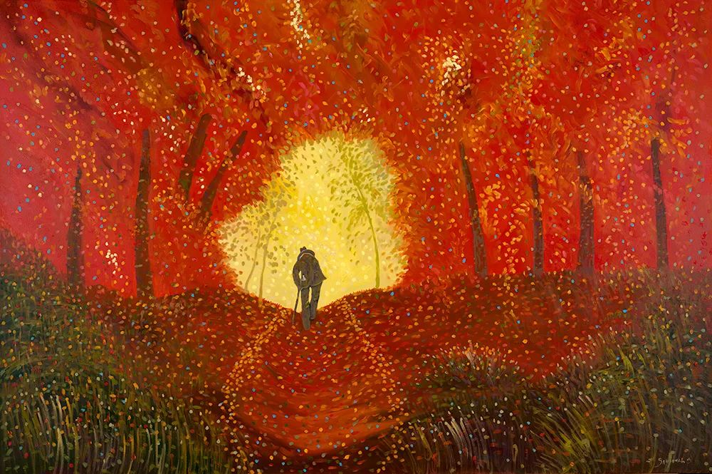 太美了,印象派和表现主义描绘的乡村景色插图99