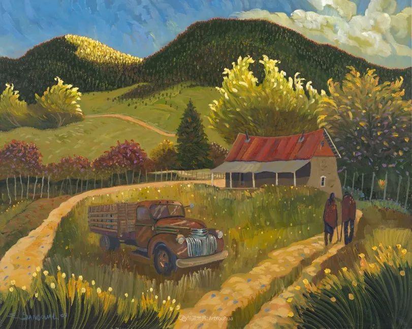 太美了,印象派和表现主义描绘的乡村景色插图105