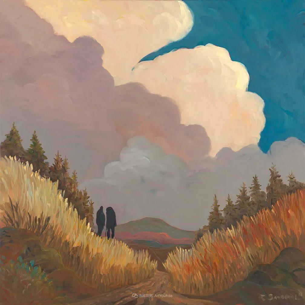太美了,印象派和表现主义描绘的乡村景色插图117