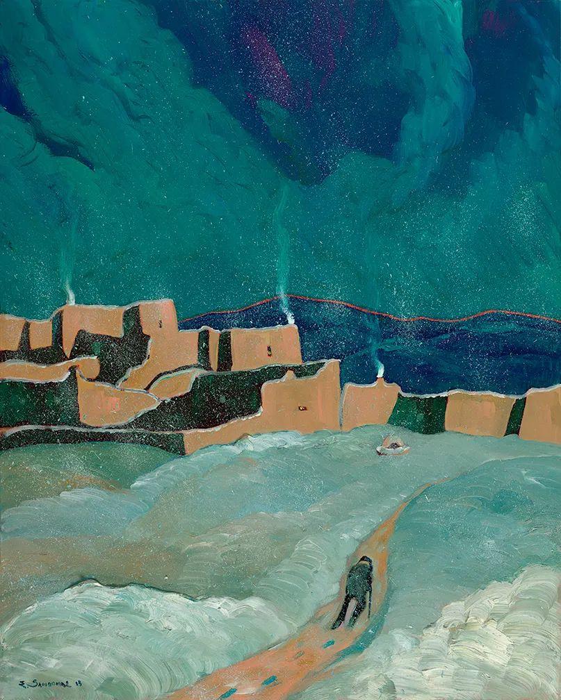 太美了,印象派和表现主义描绘的乡村景色插图131