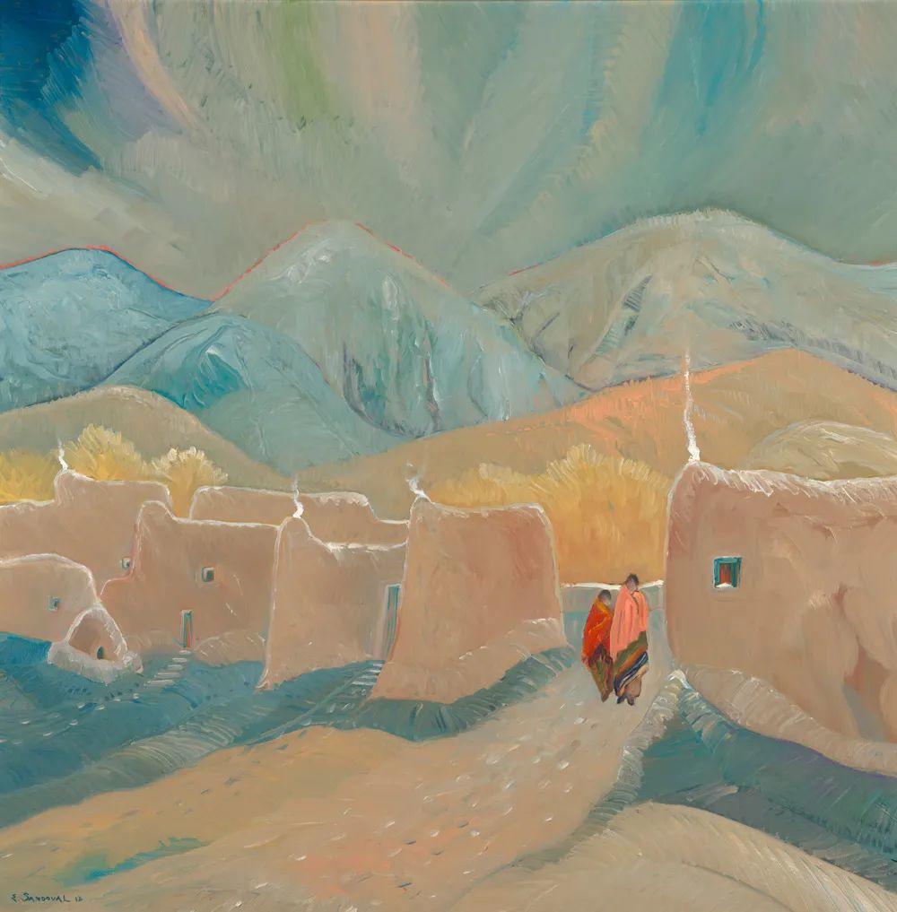 太美了,印象派和表现主义描绘的乡村景色插图139