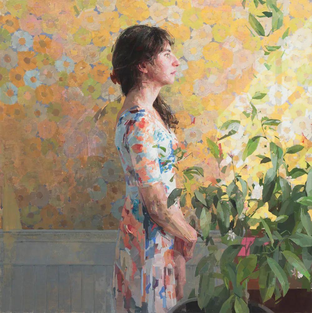具象绘画,美国女画家佐伊·弗兰克插图1