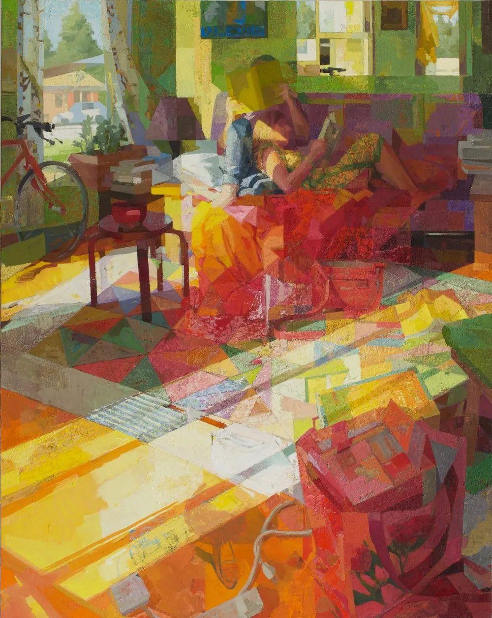 具象绘画,美国女画家佐伊·弗兰克插图17