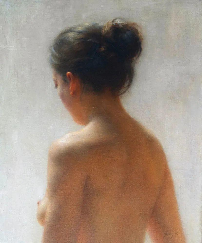 具象绘画,美国女画家佐伊·弗兰克插图23