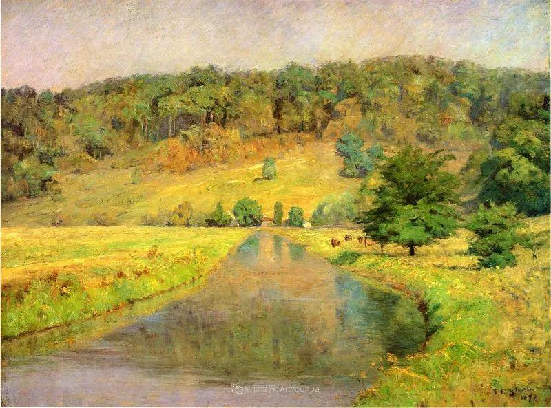 美好生动的风景,美国画家西奥多·斯蒂尔插图9