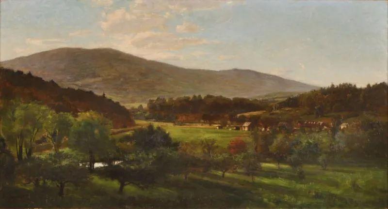 美好生动的风景,美国画家西奥多·斯蒂尔插图67