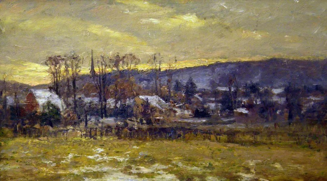 美好生动的风景,美国画家西奥多·斯蒂尔插图69