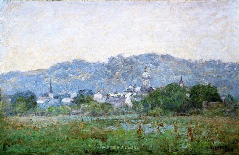 美好生动的风景,美国画家西奥多·斯蒂尔插图105