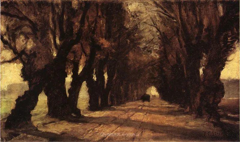 美好生动的风景,美国画家西奥多·斯蒂尔插图109