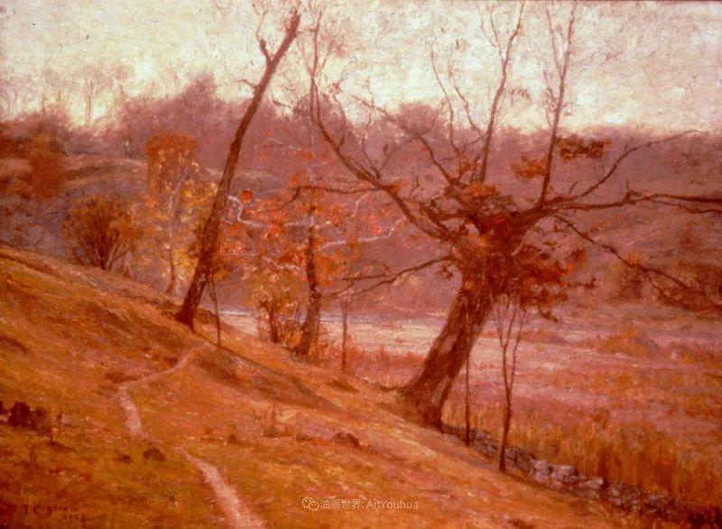 美好生动的风景,美国画家西奥多·斯蒂尔插图117