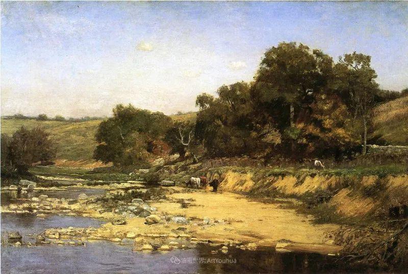 美好生动的风景,美国画家西奥多·斯蒂尔插图141