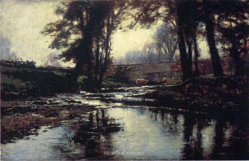 美好生动的风景,美国画家西奥多·斯蒂尔插图143