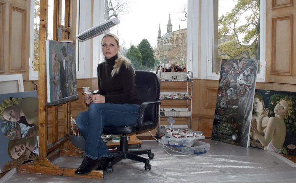 女人就像一个微妙的谜,拉脱维亚女画家阿吉塔·凯里插图9
