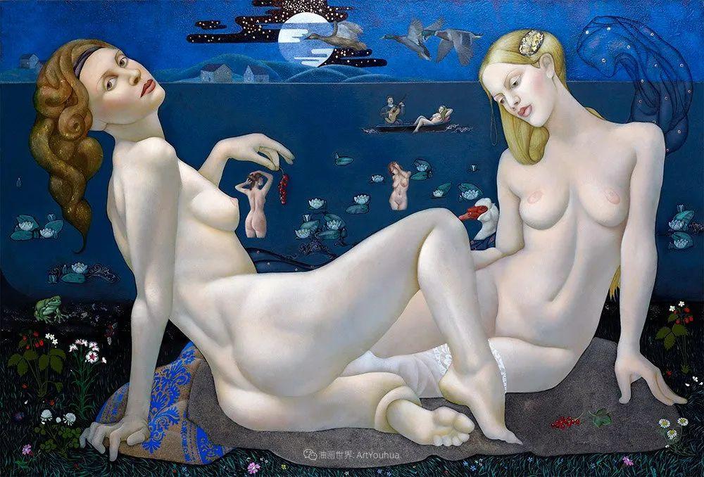女人就像一个微妙的谜,拉脱维亚女画家阿吉塔·凯里插图11