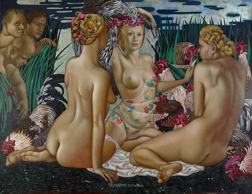 女人就像一个微妙的谜,拉脱维亚女画家阿吉塔·凯里插图27