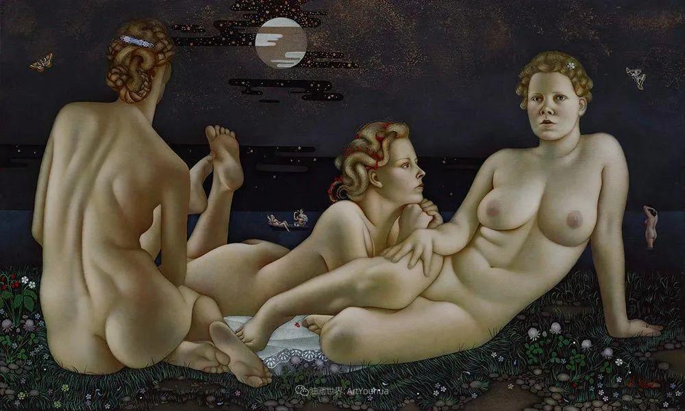 女人就像一个微妙的谜,拉脱维亚女画家阿吉塔·凯里插图33