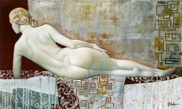 女人就像一个微妙的谜,拉脱维亚女画家阿吉塔·凯里插图41
