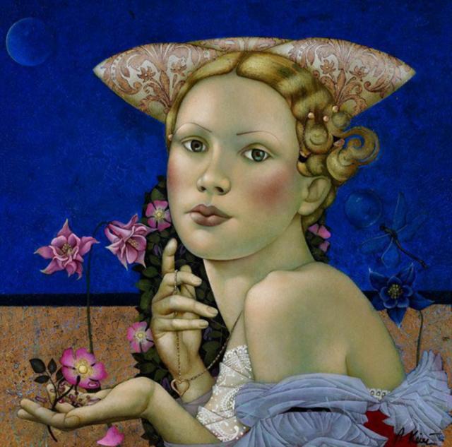 女人就像一个微妙的谜,拉脱维亚女画家阿吉塔·凯里插图45
