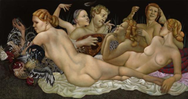 女人就像一个微妙的谜,拉脱维亚女画家阿吉塔·凯里插图47