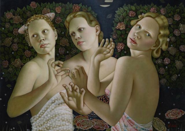 女人就像一个微妙的谜,拉脱维亚女画家阿吉塔·凯里插图49