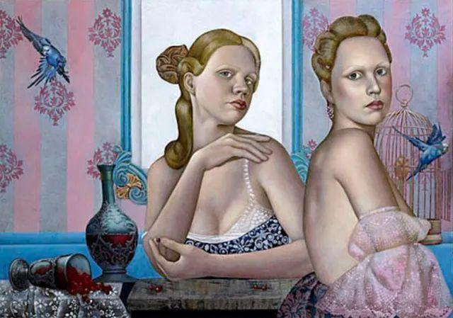 女人就像一个微妙的谜,拉脱维亚女画家阿吉塔·凯里插图53