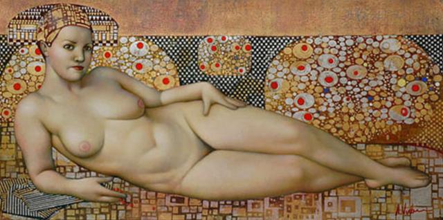 女人就像一个微妙的谜,拉脱维亚女画家阿吉塔·凯里插图55