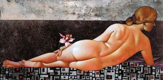 女人就像一个微妙的谜,拉脱维亚女画家阿吉塔·凯里插图57