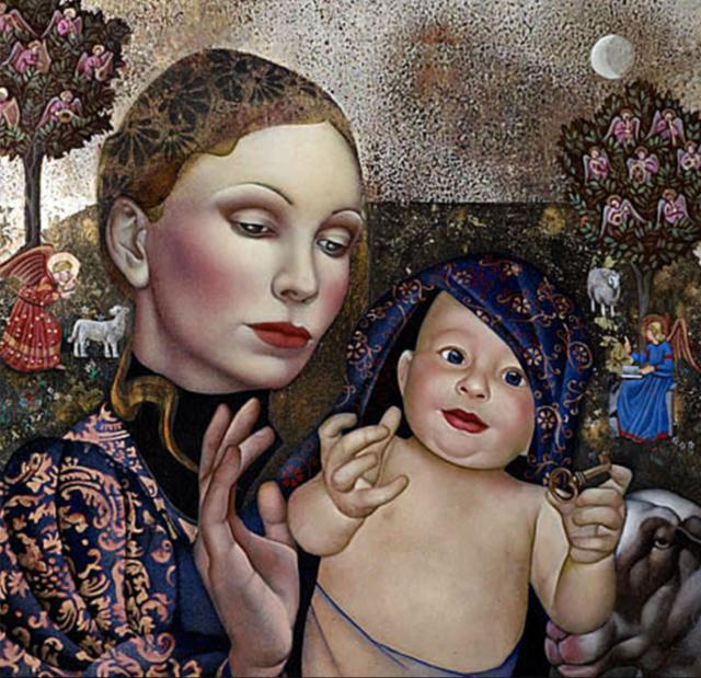 女人就像一个微妙的谜,拉脱维亚女画家阿吉塔·凯里插图63
