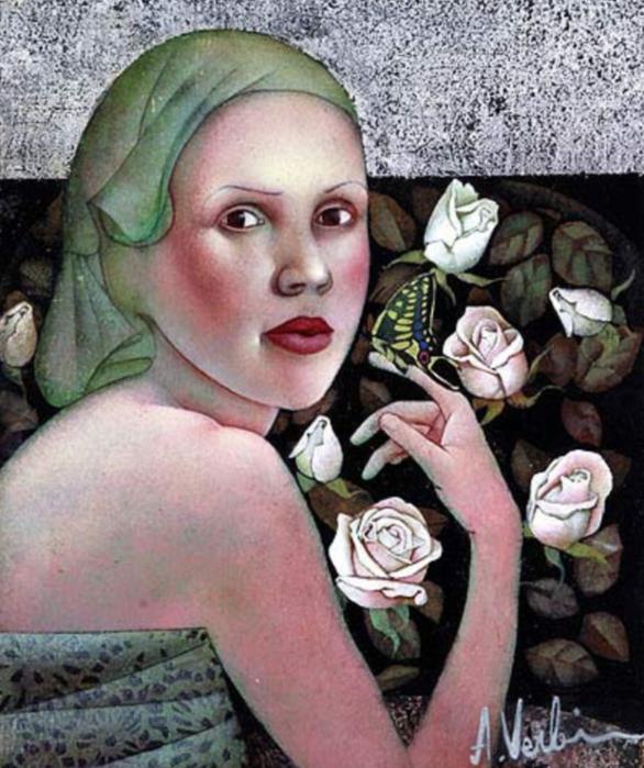 女人就像一个微妙的谜,拉脱维亚女画家阿吉塔·凯里插图65